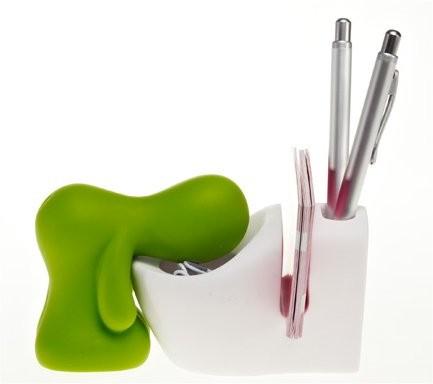 Schreibtisch-Set Klo grün