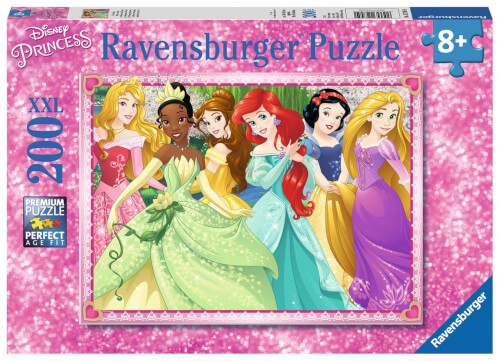 Ravensburger 12745 Puzzle Die Disney Prinzessinnen 200 Teile