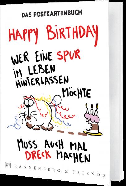 Postkartenbuch Catzz Geburtstag