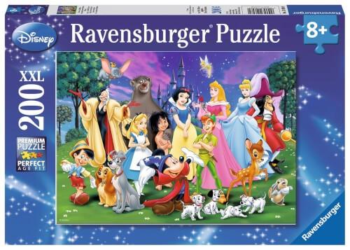 Ravensburger 12698 Puzzle Disney Lieblinge 200 Teile
