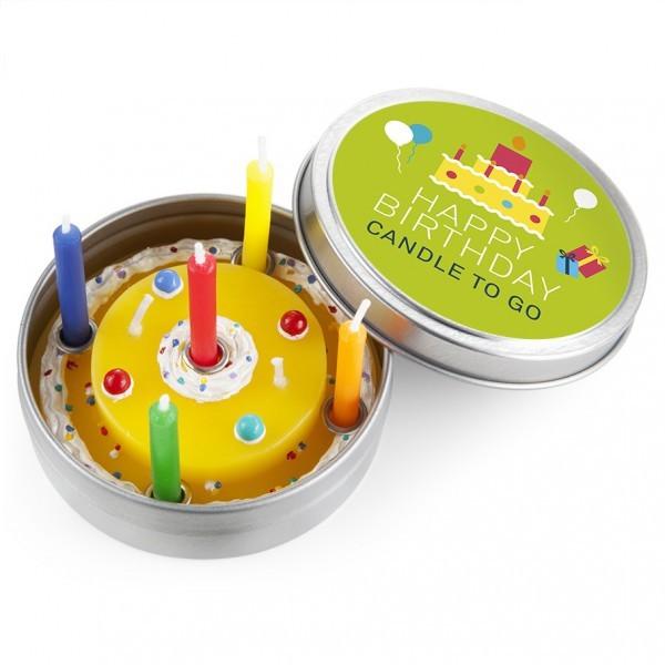 Candle to go Happy Birthday