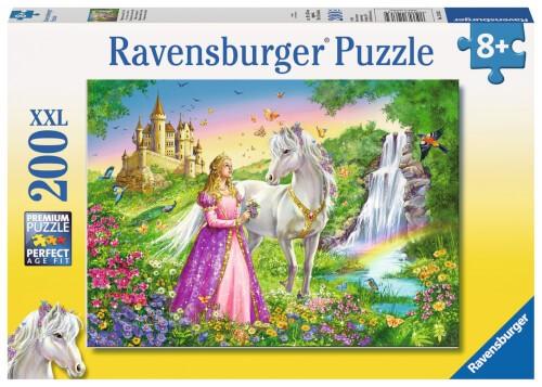 Ravensburger 12613 Puzzle Prinzessin mit Pferd 200 Teile