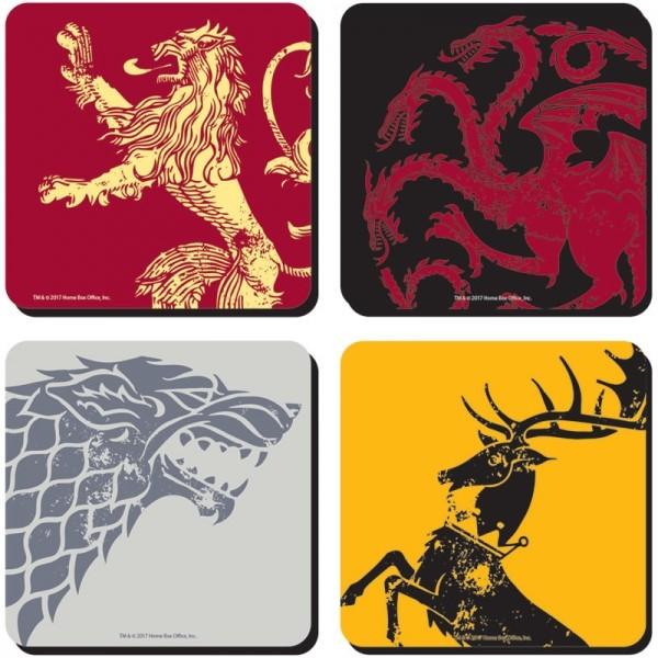 Untersetzer Game of Thrones 4er