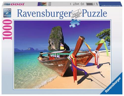 Ravensburger 19477 Puzzle Phra Nang Beach, Krabi, Thailand 1000 Teile
