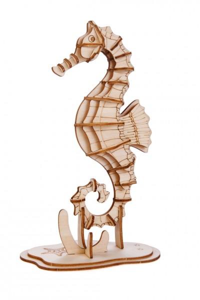 3D Holzpuzzle Seepferdchen