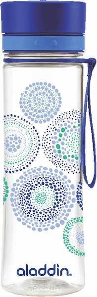 Wasserflasche blau 0,6l