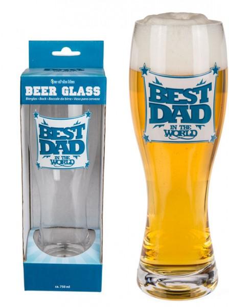 Bierglas Best Dad