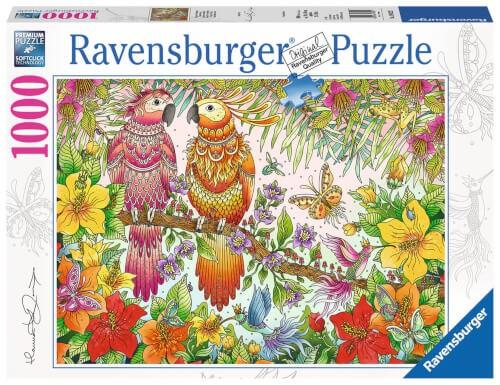 Ravensburger 19822 Puzzle: Tropische Stimmung 1000 Teile