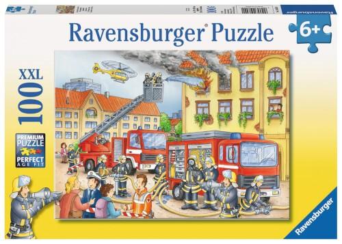 Ravensburger 10822 Puzzle Unsere Feuerwehr 100 Teile