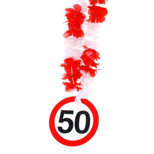 Party-Kette Zahl 50