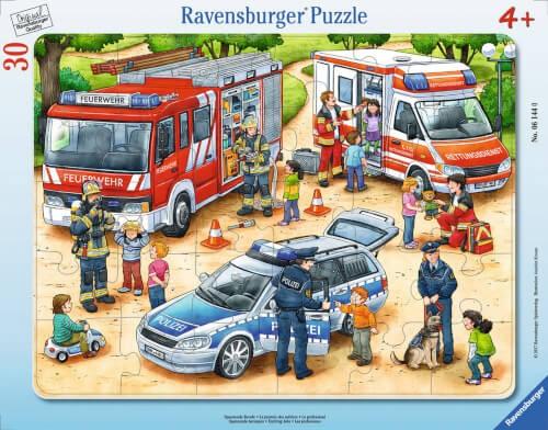 Ravensburger 06145 Puzzle Spannende Berufe 30 Teile
