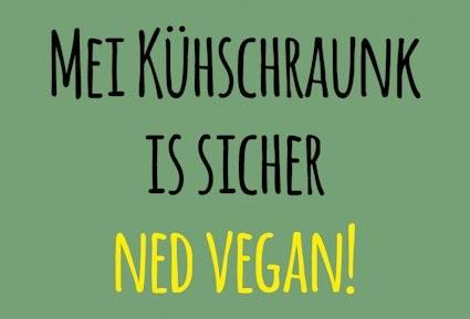 Magnet Ned vegan
