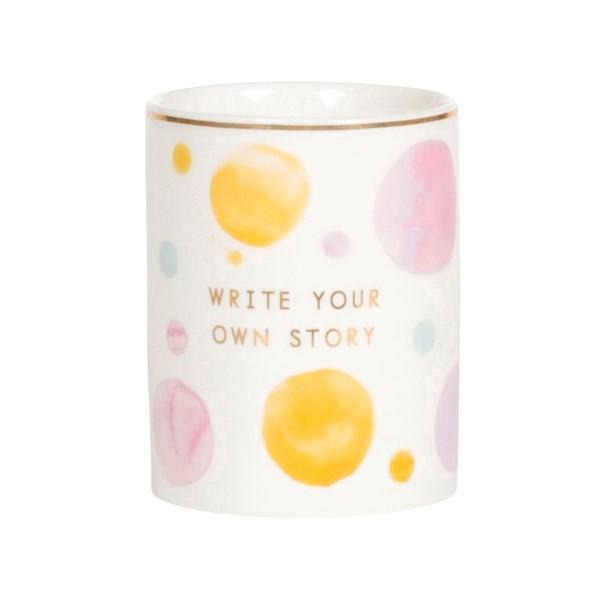 Stiftehalter Write own story