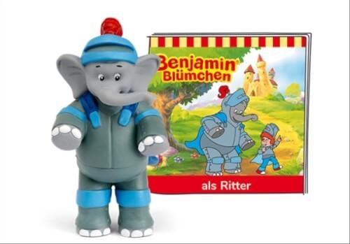 Tonies® Benjamin Blümchen - Benjamin als Ritter, ab 3 Jahren.