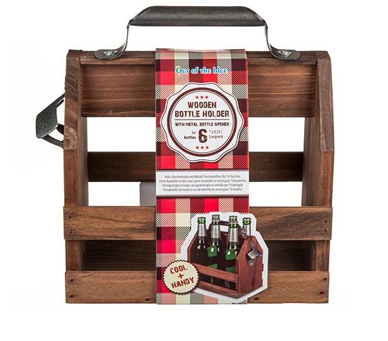Flaschenhalter Holzkiste