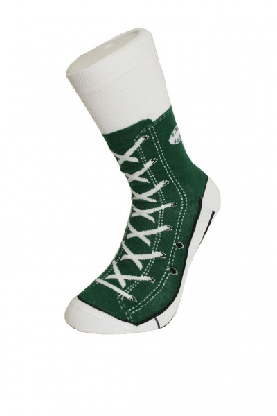 Socken Sneaker grün