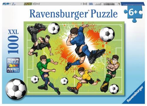 Ravensburger 10693 Puzzle: Im Fußballfieber 150 Teile