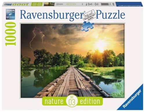 Ravensburger 19538 Puzzle Mystisches Licht 1000 Teile