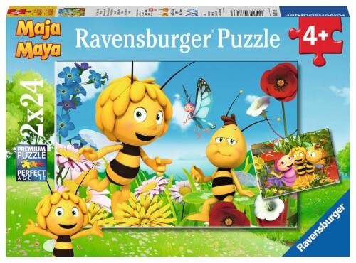 Ravensburger 07823 Puzzle: Biene Maja und ihre Freunde 2x24 Teile