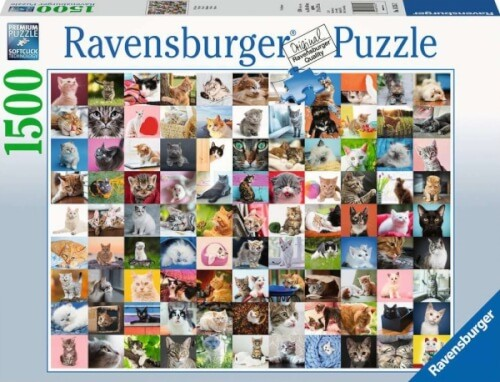Ravensburger 16235 Puzzle 99 Katzen 1500 Teile
