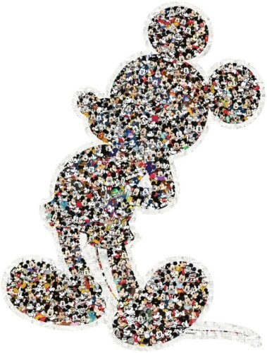 Ravensburger 16099 Puzzle Shaped Mickey 1000 Teile
