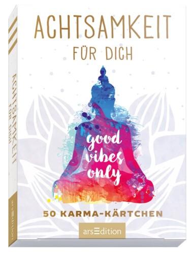 Achtsamkeit für Dich, 50 Karma Kärtchen