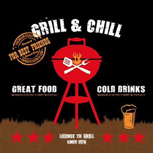 Serviette Grill & Chill