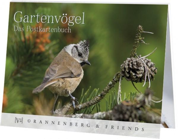 Postkartenbuch Gartenvögel