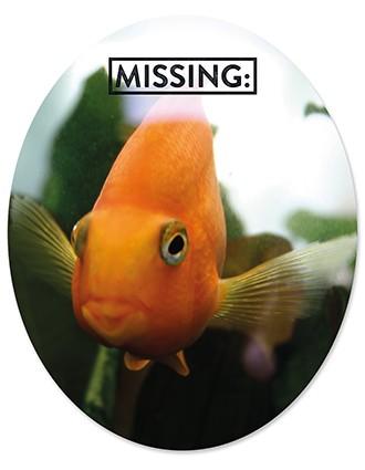 Toiletsticker Goldfisch