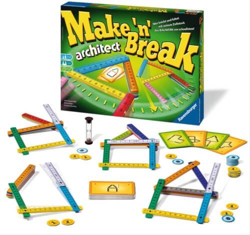 Ravensburger Mitbringspiele Make /'n/' Break Geschicklichkeitsspiel Kinder Spiel