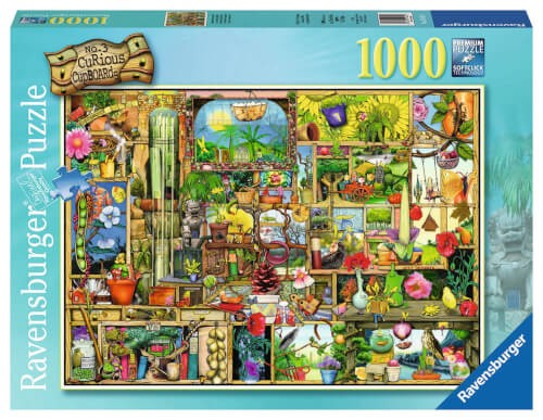 Ravensburger 19482 Puzzle Grandioses Gartenregal 1000 Teile
