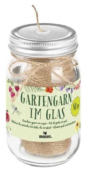 Gartengarn im Glas