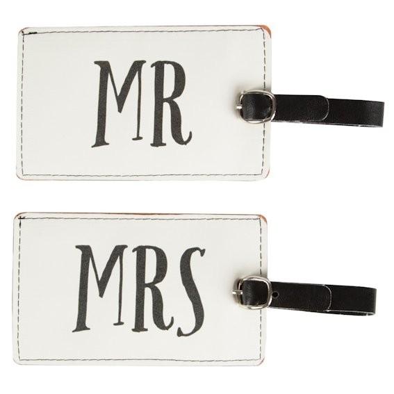 Kofferanhänger Mr&Mrs