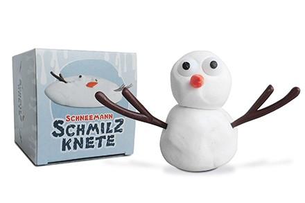 Schmelzknete Schneemann