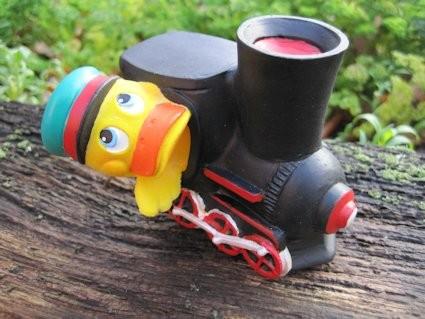 Quietschente Lokomotive