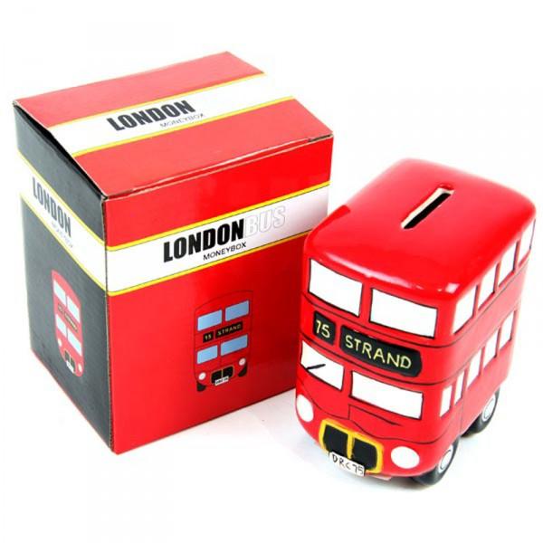 Spardose London Bus
