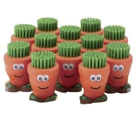 Gemüsebürste Karotte