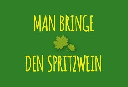 Magnet Spritzwein