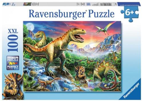 Ravensburger 10665 Puzzle Bei den Dinosauriern 100 Tiele