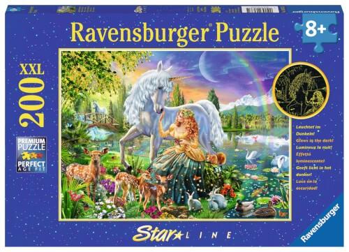 Ravensburger 13673 Puzzle Magische Begegnung 200 Teile