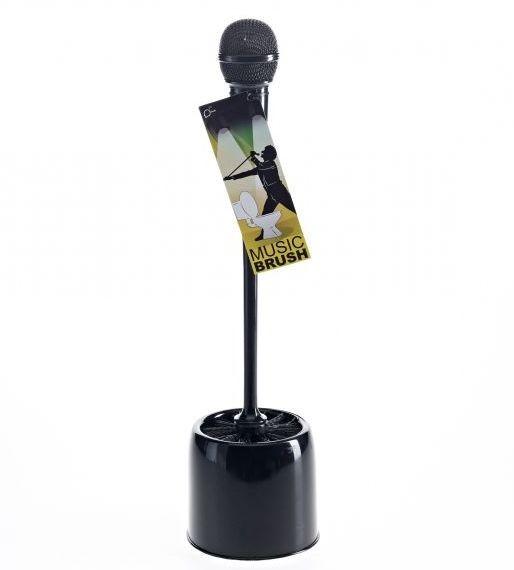Toilettebürste Mikrofon