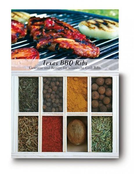 Gewürzkasten Texas BBQ Ribs
